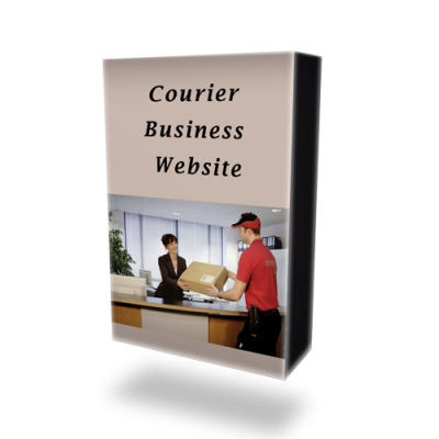 Courier Business Website
