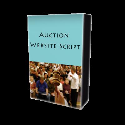 Auction Website Script